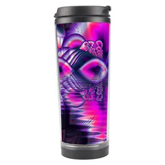 Rose Crystal Palace, Abstract Love Dream  Travel Tumbler by DianeClancy