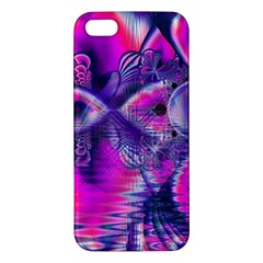 Rose Crystal Palace, Abstract Love Dream  Iphone 5s Premium Hardshell Case by DianeClancy