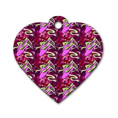 Ballerina Slippers Dog Tag Heart (one Sided)