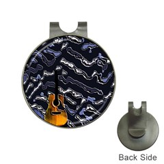 Sound Waves Hat Clip With Golf Ball Marker