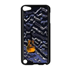 Sound Waves Apple Ipod Touch 5 Case (black)