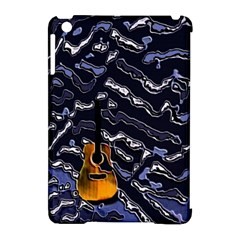 Sound Waves Apple Ipad Mini Hardshell Case (compatible With Smart Cover) by Rbrendes