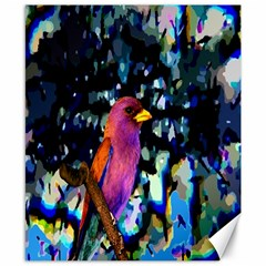 Bird Canvas 8  X 10  (unframed)