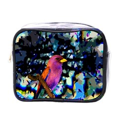 Bird Mini Travel Toiletry Bag (one Side)