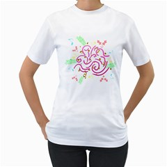 Fantasy Women s T Shirt (white)  by Contest1630871