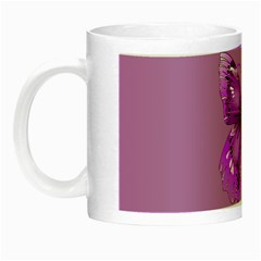 Purple Awareness Butterfly Glow In The Dark Mug by FunWithFibro