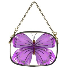 Purple Awareness Butterfly Chain Purse (one Side) by FunWithFibro