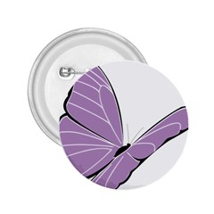 Purple Awareness Butterfly 2 2 25  Button by FunWithFibro
