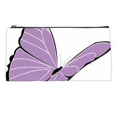 Purple Awareness Butterfly 2 Pencil Case by FunWithFibro