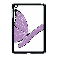 Purple Awareness Butterfly 2 Apple Ipad Mini Case (black) by FunWithFibro