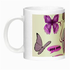 Invisible Illness Collage Glow In The Dark Mug by FunWithFibro