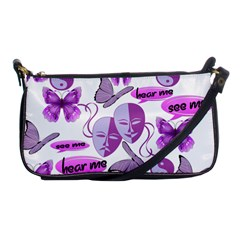 Invisible Illness Collage Evening Bag by FunWithFibro