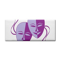 Comedy & Tragedy Of Chronic Pain Hand Towel by FunWithFibro
