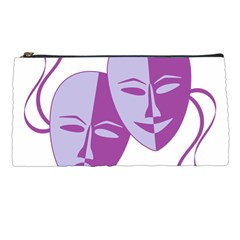Comedy & Tragedy Of Chronic Pain Pencil Case by FunWithFibro
