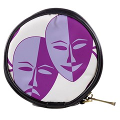 Comedy & Tragedy Of Chronic Pain Mini Makeup Case by FunWithFibro
