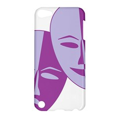 Comedy & Tragedy Of Chronic Pain Apple Ipod Touch 5 Hardshell Case by FunWithFibro