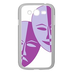 Comedy & Tragedy Of Chronic Pain Samsung Galaxy Grand Duos I9082 Case (white) by FunWithFibro