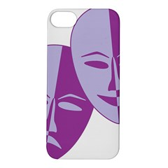 Comedy & Tragedy Of Chronic Pain Apple Iphone 5s Hardshell Case by FunWithFibro