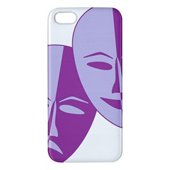 Comedy & Tragedy Of Chronic Pain Iphone 5s Premium Hardshell Case by FunWithFibro