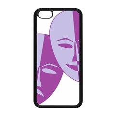 Comedy & Tragedy Of Chronic Pain Apple Iphone 5c Seamless Case (black) by FunWithFibro