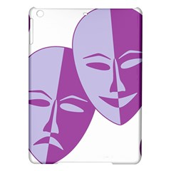 Comedy & Tragedy Of Chronic Pain Apple Ipad Air Hardshell Case by FunWithFibro