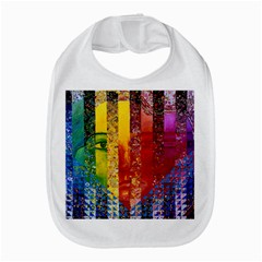 Conundrum I, Abstract Rainbow Woman Goddess  Bib by DianeClancy