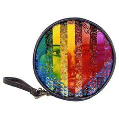 Conundrum I, Abstract Rainbow Woman Goddess  Cd Wallet