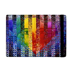 Conundrum I, Abstract Rainbow Woman Goddess  Apple Ipad Mini Flip Case by DianeClancy