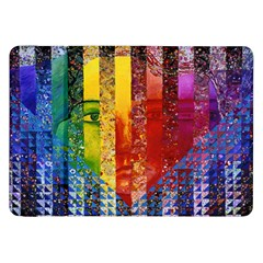 Conundrum I, Abstract Rainbow Woman Goddess  Samsung Galaxy Tab 8 9  P7300 Flip Case by DianeClancy