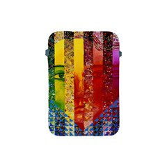 Conundrum I, Abstract Rainbow Woman Goddess  Apple Ipad Mini Protective Sleeve by DianeClancy