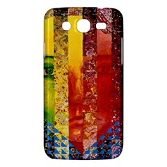 Conundrum I, Abstract Rainbow Woman Goddess  Samsung Galaxy Mega 5 8 I9152 Hardshell Case  by DianeClancy