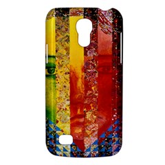 Conundrum I, Abstract Rainbow Woman Goddess  Samsung Galaxy S4 Mini (gt I9190) Hardshell Case  by DianeClancy