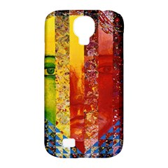 Conundrum I, Abstract Rainbow Woman Goddess  Samsung Galaxy S4 Classic Hardshell Case (pc+silicone) by DianeClancy