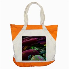 Creation Of The Rainbow Galaxy, Abstract Accent Tote Bag by DianeClancy
