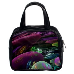 Creation Of The Rainbow Galaxy, Abstract Classic Handbag (two Sides) by DianeClancy