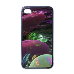 Creation Of The Rainbow Galaxy, Abstract Apple Iphone 4 Case (black) by DianeClancy
