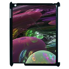 Creation Of The Rainbow Galaxy, Abstract Apple Ipad 2 Case (black) by DianeClancy