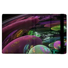 Creation Of The Rainbow Galaxy, Abstract Apple Ipad 3/4 Flip Case by DianeClancy