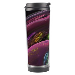 Creation Of The Rainbow Galaxy, Abstract Travel Tumbler by DianeClancy