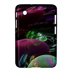 Creation Of The Rainbow Galaxy, Abstract Samsung Galaxy Tab 2 (7 ) P3100 Hardshell Case  by DianeClancy