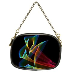 Peacock Symphony, Abstract Rainbow Music Chain Purse (one Side) by DianeClancy
