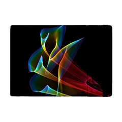 Peacock Symphony, Abstract Rainbow Music Apple Ipad Mini Flip Case by DianeClancy