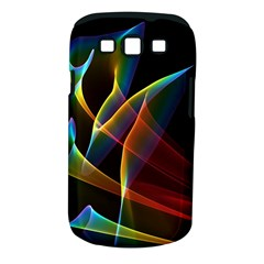 Peacock Symphony, Abstract Rainbow Music Samsung Galaxy S Iii Classic Hardshell Case (pc+silicone) by DianeClancy