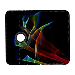 Peacock Symphony, Abstract Rainbow Music Samsung Galaxy S  Iii Flip 360 Case by DianeClancy