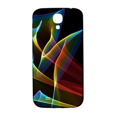 Peacock Symphony, Abstract Rainbow Music Samsung Galaxy S4 I9500/i9505  Hardshell Back Case by DianeClancy