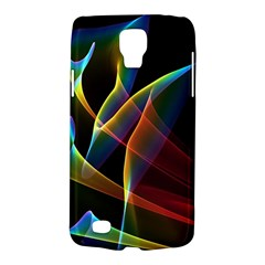 Peacock Symphony, Abstract Rainbow Music Samsung Galaxy S4 Active (i9295) Hardshell Case by DianeClancy