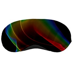 Liquid Rainbow, Abstract Wave Of Cosmic Energy  Sleeping Mask by DianeClancy