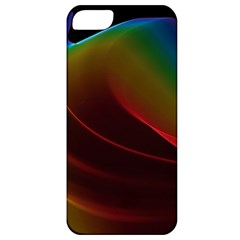 Liquid Rainbow, Abstract Wave Of Cosmic Energy  Apple Iphone 5 Classic Hardshell Case by DianeClancy