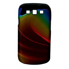 Liquid Rainbow, Abstract Wave Of Cosmic Energy  Samsung Galaxy S Iii Classic Hardshell Case (pc+silicone) by DianeClancy