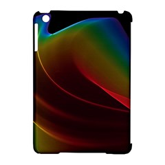 Liquid Rainbow, Abstract Wave Of Cosmic Energy  Apple Ipad Mini Hardshell Case (compatible With Smart Cover) by DianeClancy